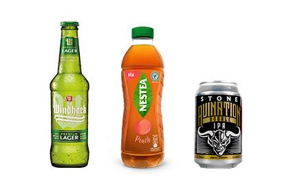Beverage Pressure Sensitive Labels