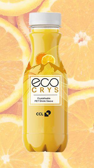 EcoCrys™ Crystallisable PET Shrink Sleeve