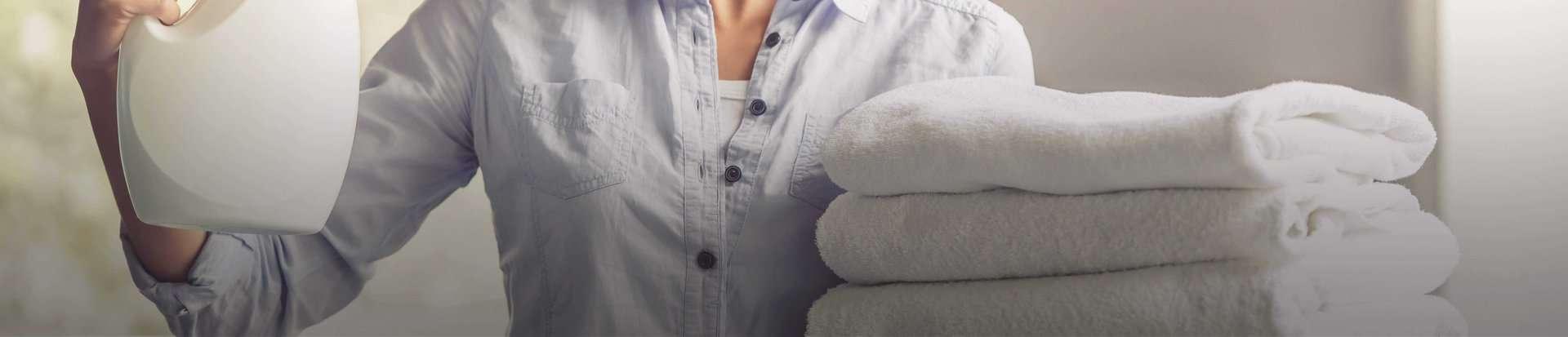Home Care & Laundry Metallics Header