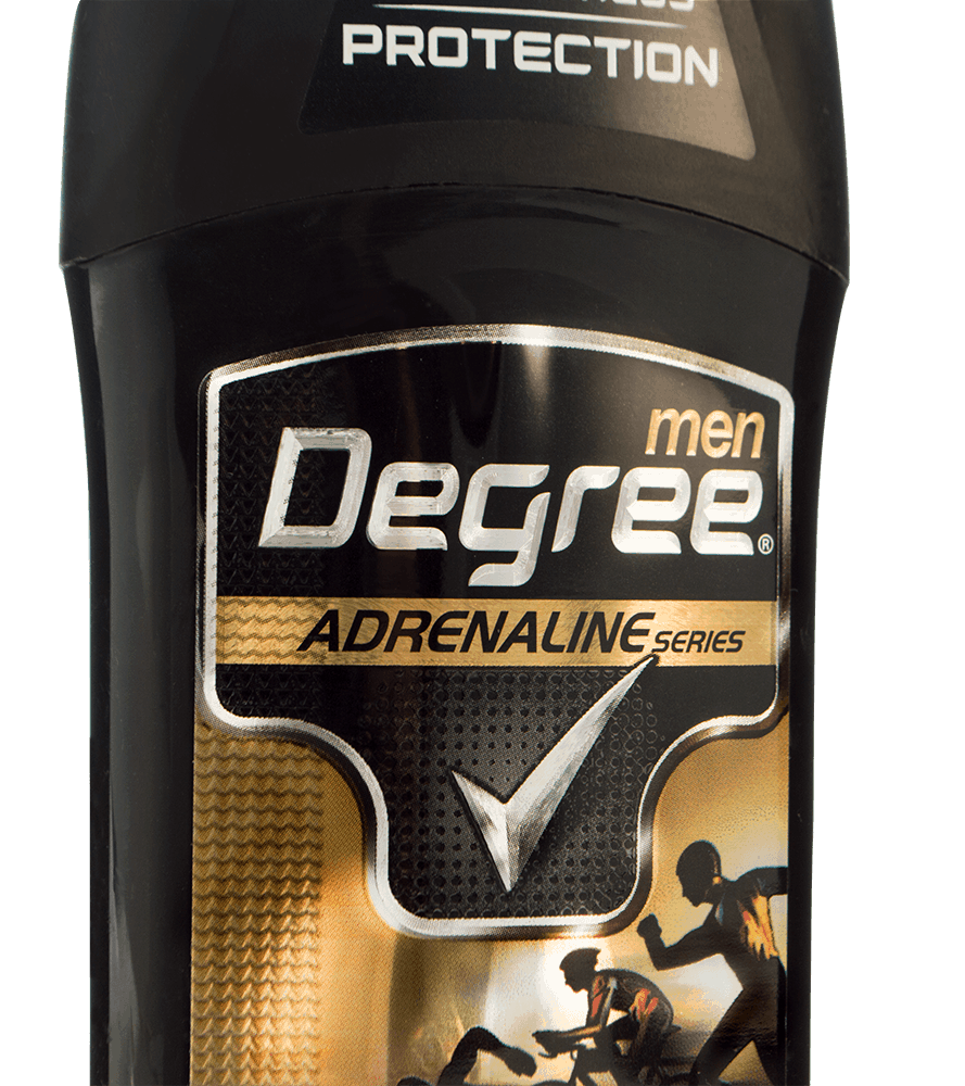Degree Adrenaline Special Effects Label