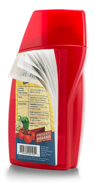 EcoSlim Label on Bottle