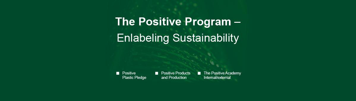 The Positive Program Header Image