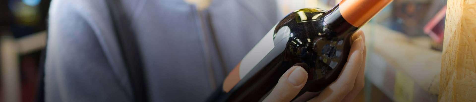 Wine & Spirits Pressure Sensitive Labels Header